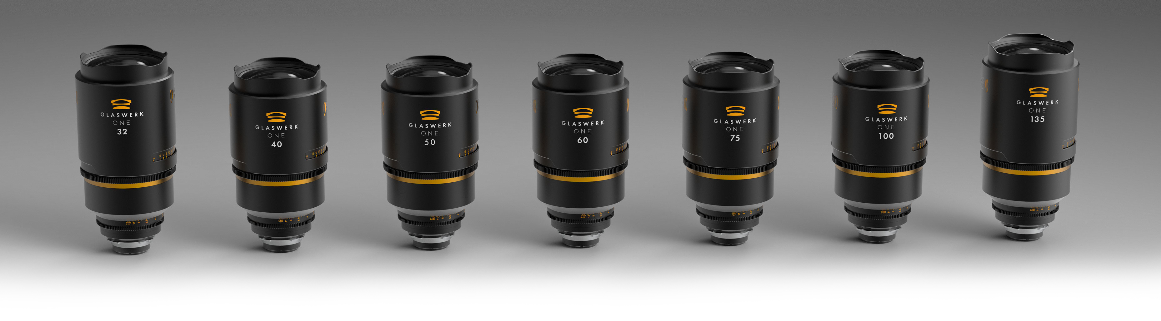 Glaswerk One anamorphic lenses