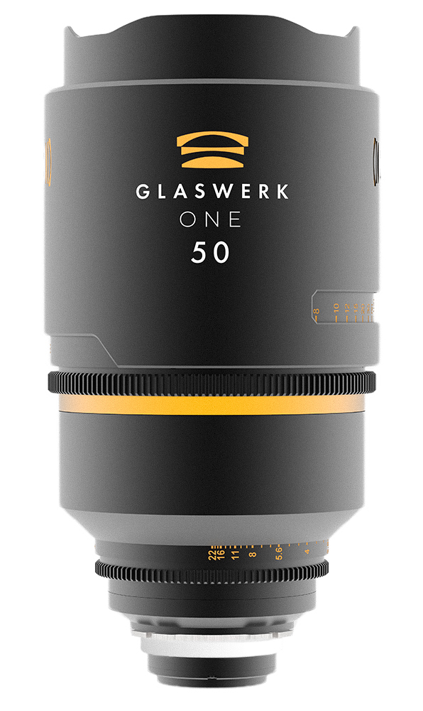 Glaswerk One 50mm anamorphic lens