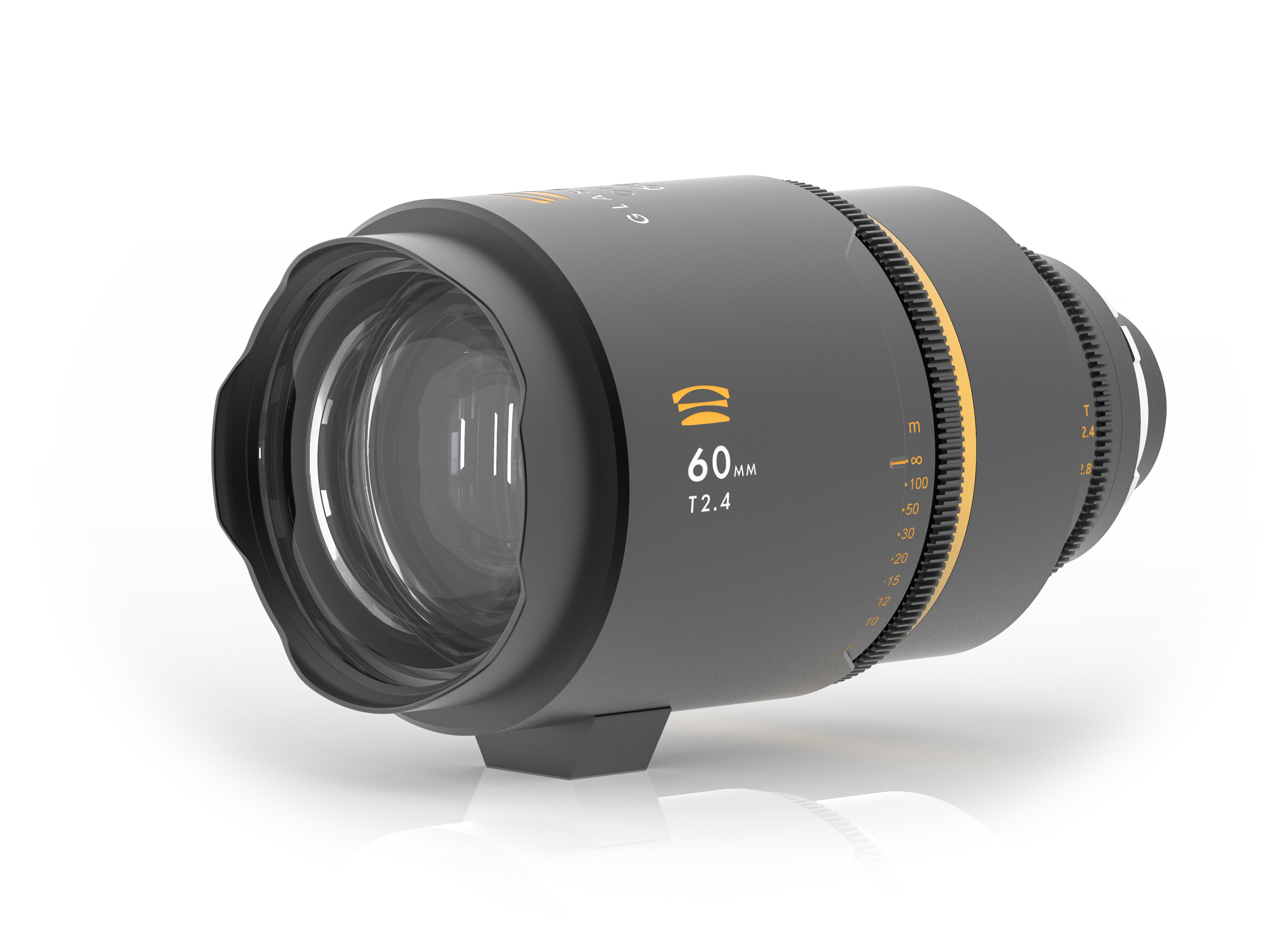 Glaswerk One 60mm anamorphic lens