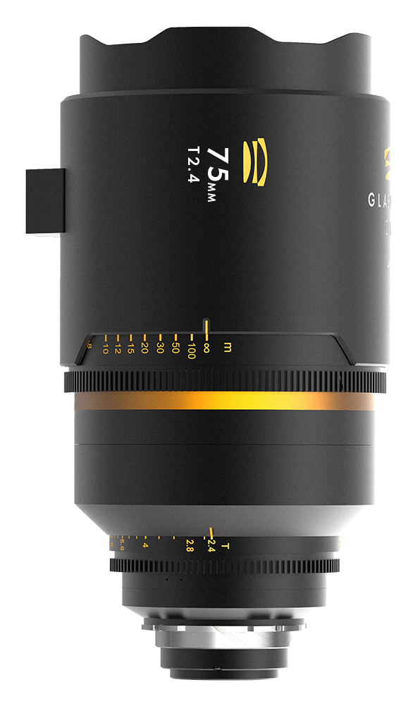Glaswerk One 75mm anamorphic lens