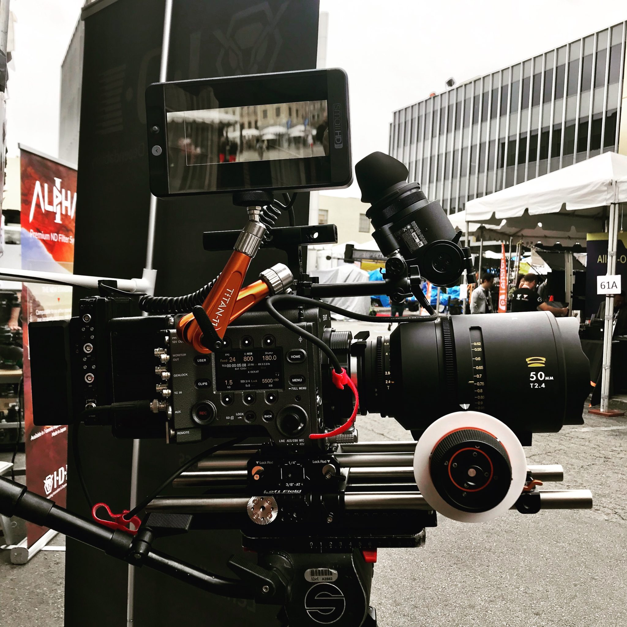 Glaswerk ONE at Cinegear 2019